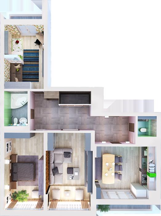 Смотреть 3к квартиры
